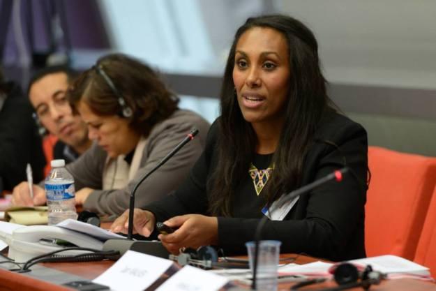 Adiam Tedros presenterar 2014 års Demokratiutredning